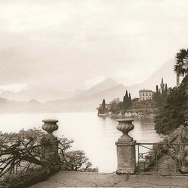 Printfinders Villa Monastero, Lake Como by Alan Blaustein Photographic Print on Wrapped Canvas