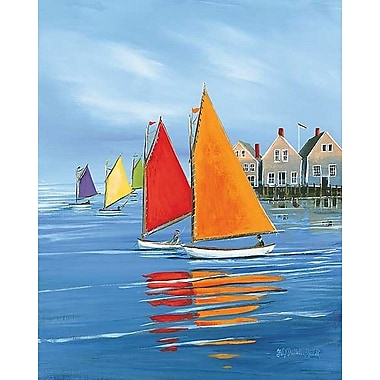 Printfinders Mariner s Landing by Sally Caldwell Fisher Painting Print on Wrapped Canvas