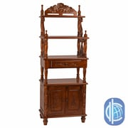 International Caravan Windsor 63'' Accent Shelves Bookcase