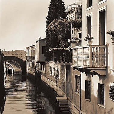 Printfinders Bridges of Venice No. 5 by Alan Blaustein Photographic Print on Wrapped Canvas