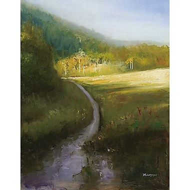 Printfinders Path by Michelle Condrat Painting Print on Wrapped Canvas; 28'' H x 22'' W x 1'' D