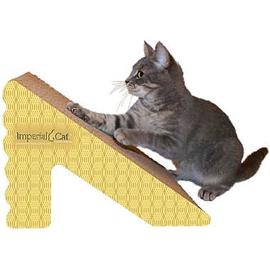 Imperial Cat Scratch 'n Shapes Rub & Ramp Recycled Paper Scratching Post; Honeycomb