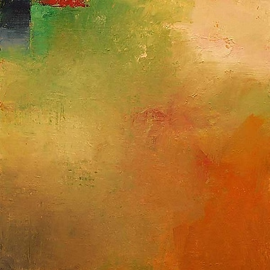 Printfinders Autumn Mist by Mark Dickson Painting Print on Wrapped Canvas; 16'' H x 16'' W x 1'' D