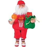Santa's Workshop 15'' Basketball Santa