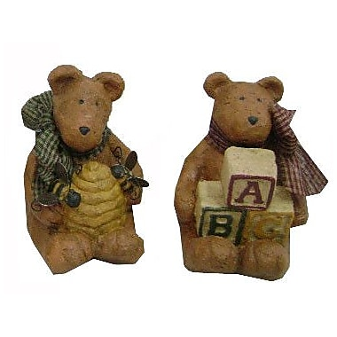 Craft Outlet Blocks and Bees Bears (Set of 2)