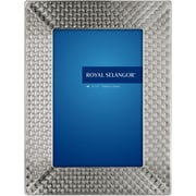 Royal Selangor Mirage Wave Picture Frame; 4'' x 6''