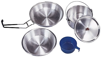Stansport 6-Piece Mess Kit WYF078277069039