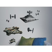 Room Mates Popular Characters Star Wars Rebel and Imperial Ships Wall Decal
