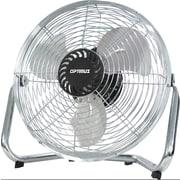 Optimus High Velocity Floor Fan; 10'' H x 24'' W x 24'' D