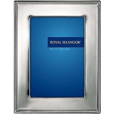 Royal Selangor Mirage Jefferson Picture Frame; 4'' x 6''