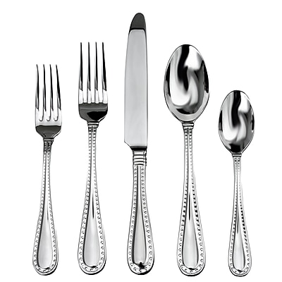Ricci Argentieri Rivets 5 Piece Flatware Set