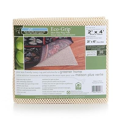 Vantage Industries Eco Grip Non-Slip Rug Pad; Rectangle 2' x 4'