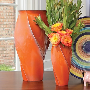 Global Views Twist Vase; Small