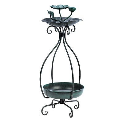 Zingz & Thingz Blooming Plant Decorative Tray Bird Feeder