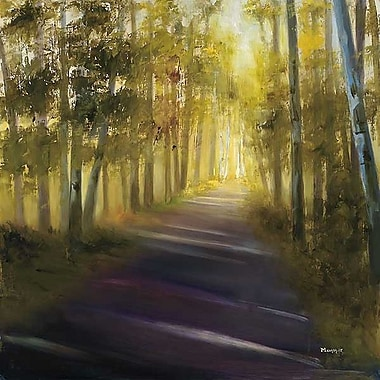 Printfinders Walk Away by Michelle Condrat Painting Print on Wrapped Canvas; 24'' H x 24'' W x 1'' D