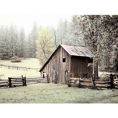 Printfinders Barn Near by Laura Culver Photographic Print on Wrapped Canvas; 18'' H x 24'' W x 1'' D