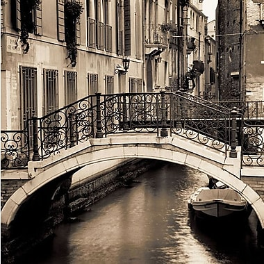 Printfinders Bridges of Venice No. 1 by Alan Blaustein Photographic Print on Wrapped Canvas