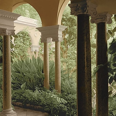 Printfinders Portico Garden No. 2 by Alan Blaustein Photographic Print on Wrapped Canvas