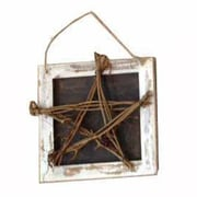 Craft Outlet Star and Heart Hanging Wall D cor (Set of 2)