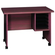 Ironwood General Deluxe Typing Stand; Mahogany