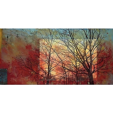 Printfinders Family by Margaretha Bootsma Painting Print on Wrapped Canvas; 18'' H x 36'' W x 1'' D