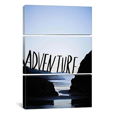 iCanvas Leah Flores Adventure (Arcadia) 3 Piece Photographic Print on Wrapped Canvas Set