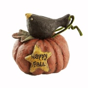 Craft Outlet Happy Fall Crow on Pumpkin