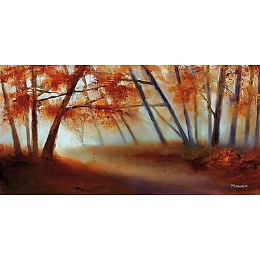 Printfinders Let Us Follow it and See by Michelle Condrat Painting Print on Wrapped Canvas