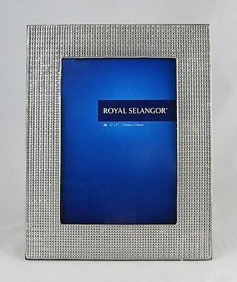 Royal Selangor Mirage Mesh Picture Frame; 5'' x 7''