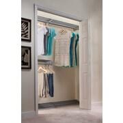 EZ SHELF from Tube Technology Closet System Wall Shelf; Silver