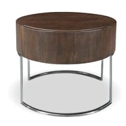 Bellini Modern Living Mint End Table; Brown Oak