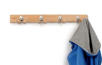 Spectrum Diversified Stratford Wood Rack 4-Double Wall Hook