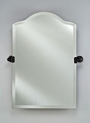 Afina Scallop Frameless Top Mirror; 30'' H x 20'' W