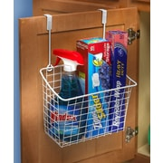 Spectrum Diversified Large Over the Cabinet Door Organizer; White