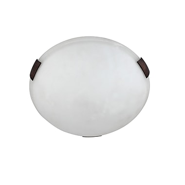 Whitfield Lighting Alexander 2-Light Flush Mount; Oil Rubbed Bronze