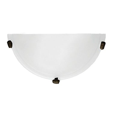 Whitfield Lighting Carter 1-Light Wall Sconce; Coffee