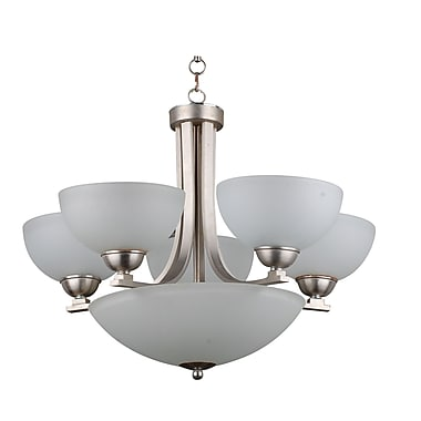Whitfield Lighting Taylor 8-Light Shaded Chandelier