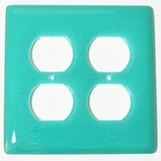 Hot Knobs Solid 2 Gang Receptical Wall Plate