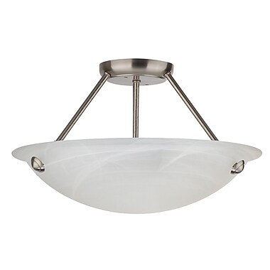 Whitfield Lighting Alana 3-Light Semi Flush Mount