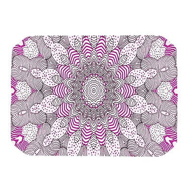 KESS InHouse Dots and Stripes Placemat; Pink