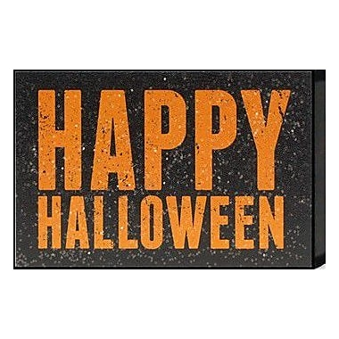 Artistic Reflections Just Sayin 'Happy Halloween' by Tonya Textual Art Plaque
