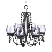 Zingz & Thingz Elegance 6-Light Shaded Chandelier