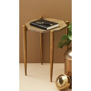 Twos Company 1950's Shagreen End Table