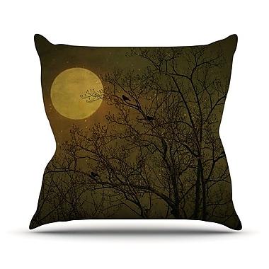 KESS InHouse Starry Night Throw Pillow; 26'' H x 26'' W