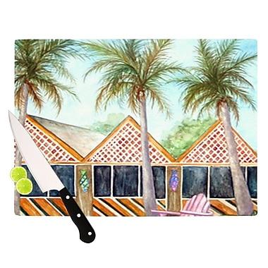 KESS InHouse MCT on Sanibel Cutting Board; 11.5'' H x 15.75'' W x 0.15'' D