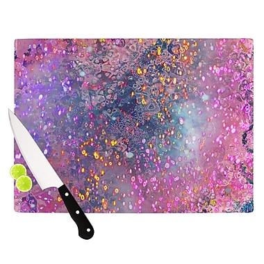 KESS InHouse Pink Universe Cutting Board; 11.5'' H x 15.75'' W x 0.15'' D