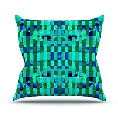 KESS InHouse Verdiga Throw Pillow; 20'' H x 20'' W