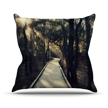 KESS InHouse Dream Worthy Throw Pillow; 20'' H x 20'' W