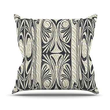 KESS InHouse The Palace Throw Pillow; 18'' H x 18'' W