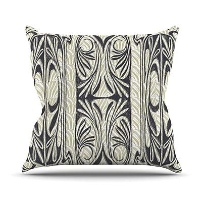 KESS InHouse The Palace Throw Pillow; 26'' H x 26'' W